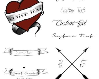 Wholesale Temporary Tattoos, Custom Temporary Tattoo, Wedding Temporary Tattoo, Wedding Favours, Wedding Gift, Wedding Accessories, Event