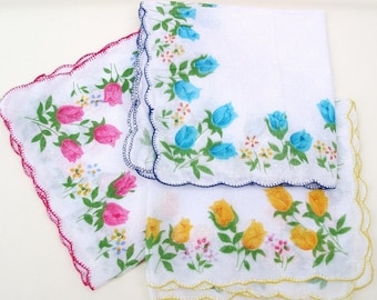 Vintage Hankies | Ladies Handkerchiefs | Womens Handkerchiefs | Bridal Accessories
