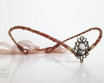 Woodland  elf tiara - elven headpiece