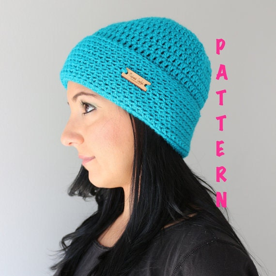 Hat Pattern Wide Brim Crochet hat Pattern Easy by ...