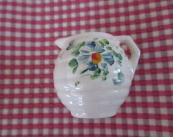 Vintage Miniatures Miniature Jugs Pitchers Pourers  Hand Painted Ceramics YourFineHouse SHIPSWORLDWIDE