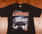 vintage 90s Dale Earnhardt t-shirt 1990 NASCAR tee shirt The Intimidator #3 3 Nutmeg Mills USA 100% cotton XL extra large