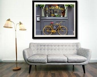London photography, London art print, London bicycle - The Marylebone