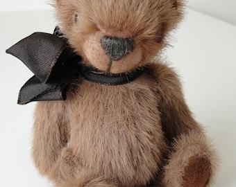 Artist stuffed Teddy bear hand made OOAK present collectable Nicolas