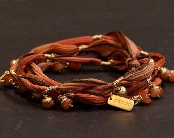 Warm Spirit/warrior wrap/bracelet/necklace