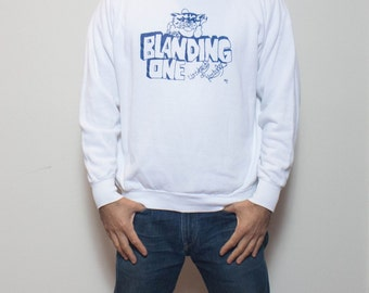 "MED-LRG | ""Blanding One"" UK University of Kentucky 1970's Sweatshirt printed on Healthknit Thin & Soft"