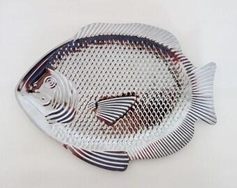 Vintage Fish Tin Platter