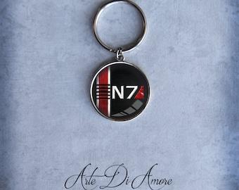 N7 Keychains 3 Designs