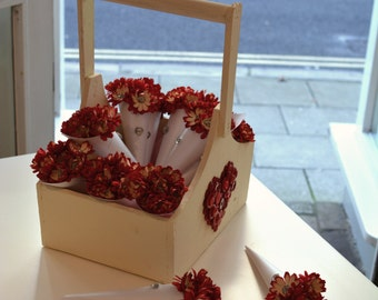 Valentines Flower Posy - Say it with Buttons!