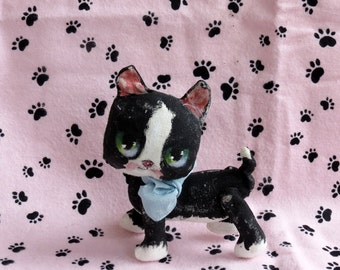 Kitten , Cat cloth doll  , Blythe sized toy , collector cat doll , gift for her , Blythe accessory , Gift for cat lover ,