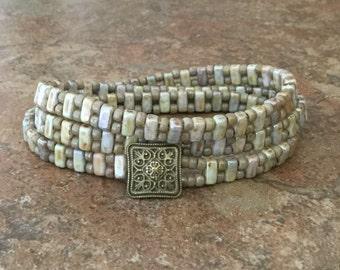 Czechmates Seed Bead Bracelet Wrap Bracelet Casual Bohemian Jewelry
