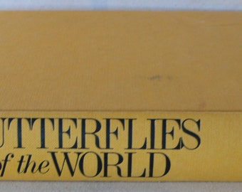vintage book, Butterflies of the World, 1984, first edition, from Diz Has Neat Stuff
