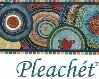 Pleachet Rug Kit (Shirred/Shirret Rugs) w/Rugbee Rug Needle