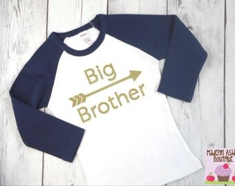 Big Brother Shirt-Big Brother Announcement Shirt-Big Brother Outfit-Big Brother Shirt Announcement-Big Brother Long Sleeve Shirt