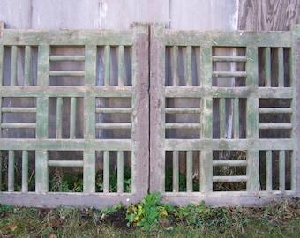 antique garden door,salvage mediterranean door,rustic chippy green door,reclaimed door
