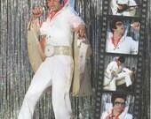 UNCUT Simplicity 2859 Elvis Las Vegas Costume Pattern Men Size XS-XL