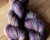 "Sock Yarn Single - 70/30 SW Merino/Silk - Valentine's Day - ""Popping The Question"""