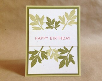 Birthday Card for Him - Outdoor Card - Nature Card - Hiking Birthday Card - Camping Card - Brother Birthday Card - Minimalist Birthday Card