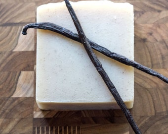 Vanilla Bean Soap - Artisan Soap, Handcrafted Soap, Vegan Soap