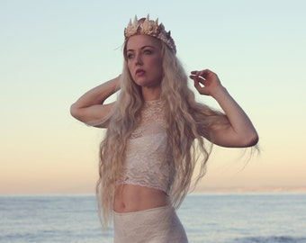 Shell crown,  mermaid tiara,  mermaid crown