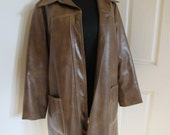 Dean Winchester Supernatural inspired Cosplay, Brown long vintage jacket