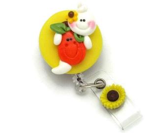 Fall Badge Reels - Ghost Badge Reels - Seasonal Badge Clips - Designer Badge Reels - Cute ID Holders - Fun Badge Reels - Badge Reel Gifts