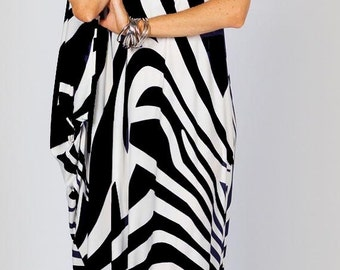 One Shoulder Maxi Dress Matte Jersey Many Colors and Prints