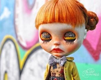 JUNE Ooak Custom Art Blythe Doll By Odd PRINCESS