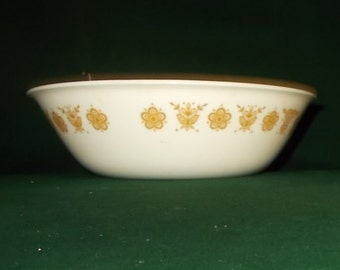 Corelle Butterfly Gold Bowl Serving Bowl Mixing Bowl Golden Butterfly Salad Vegetable Serving Bowl