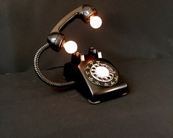 Lamp - Lighting - Rotary Telephone