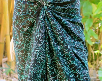 Pareo, Sarong, Swimsuit cover up, Beach Sarong
