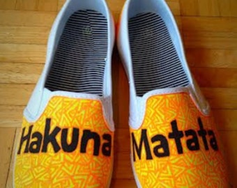 Lion King Hakuna Matata Custom Shoes