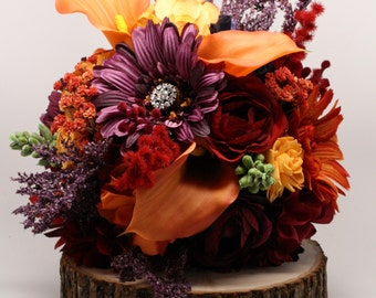 Fall Bouquet Package for Tessa F.