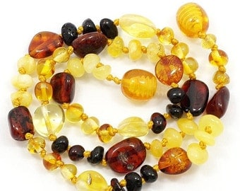15% OFF THRU OCT Baltic Amber Baby Teething Necklace 122