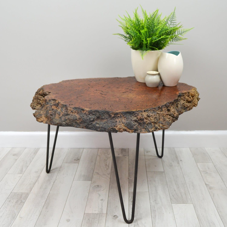 Live Edge Australian Oak Coffee Table On By