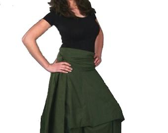 MANDALA PRINT BOHHEMIAn SKIRT, long Skirt, GYPSIe skirt, Flamenco skirt, steampunk skirt, Hippie skirt, MpSKAL
