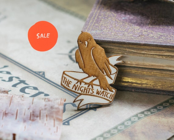 SALE! Game of Thrones Brooch - 'The Night's Watch'