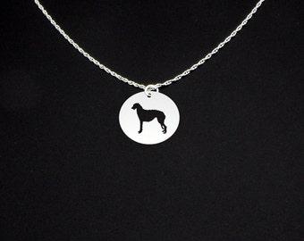 Scottish Deerhound Necklace - Scottish Deerhound Jewelry - Scottish Deerhound Gift