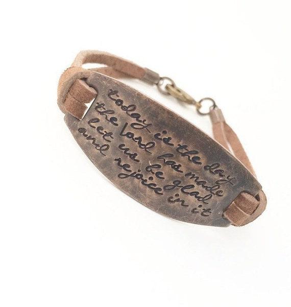 scripture bracelet psalm 118 24 bracelet bible verse bracelet