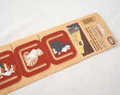 Kitty Cat Vintage Paper Clips or Book Markers / 80s Retro Office