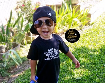 Tupac Lyrics Mama Black White  Shirt or Bodysuit Toddler & Baby Sizes