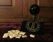 Bone Divination (Runes) Set ~ Bones, runes, voodoo, priestess, goddess, meditation, divination, tarot, altar, ritual, coven, scrolls, athame