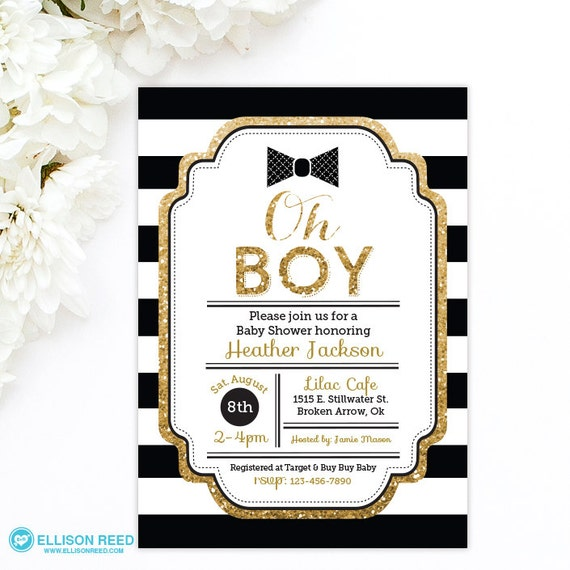 Bow Tie Invitation for great invitation example