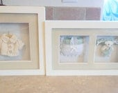 Two shadow boxes cute baby room decor 19.00 for BOTH