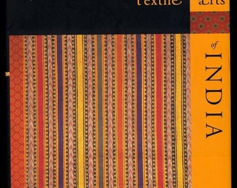 Textile Arts of India, Book, Hardcover, Full Color