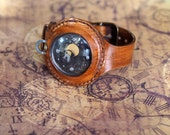 Raketa Copernicus - Custom steampunk  watch, modified USSR Raketa watch