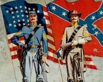 The How and Why Wonder Book of The Civil War by Earl Schenck Miers, illustrated by Leonard Vosburgh