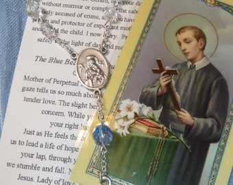 St. Gerard for a Safe Pregnancy and Delivery Chaplet~Rosary Chaplet,St of Children,St of childbirth,St of motherhood,St of the unborn,