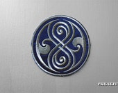 Inspired Doctor Who, Seal of Rassilon sew/iron on Patch
