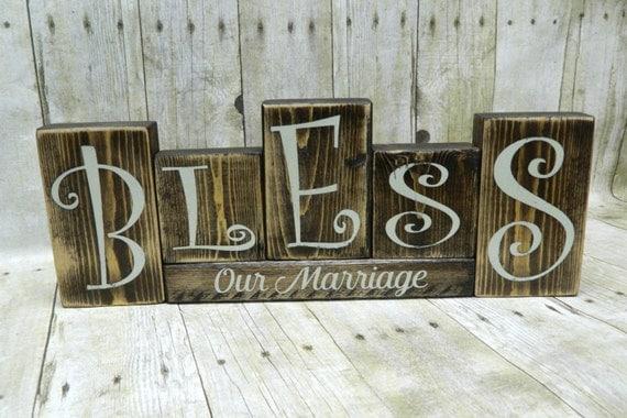 Rustic Wedding Rustic Wedding Decor Wood Blocks Wood Block